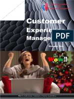 CICM CUSTOMER EXPERIENCE MANAGEMENT