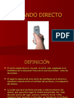 EL MANDO DIRECTO