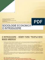 Sociologie economica