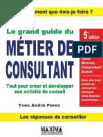 Le Grand Guide du Métier de Consultant