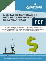 Manual de captação de recursos subsidiados