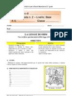 Lab_2B_La legge di Ohm