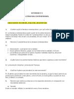 ACTIVIDAD N°1  LITERATURA CONTEMPORÁNEA
