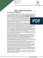 Perché l'Italia deve aiutare San Marino - Formiche.net, 21 aprile 2020
