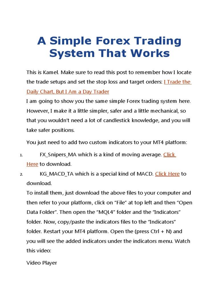 10 pips sistem perdagangan harian