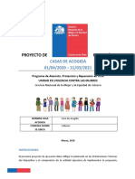 Proyecto CDA Vallenar. Abril 2020 - Marzo 2021. Final
