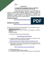 Instructivo Solicitud de Pago de Asignacio0nes Familiares Personal Ministerio de Educación