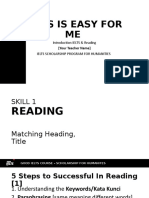 [2] Introduction IELTS - Matching Heading