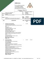 Automatizacion de inyeccion de cloro poscloración.