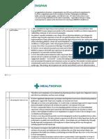 Healthspan / Bon Secours Mercy Health Executive Summary - NHRMC RFP