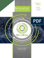 OccuZone Issue 4 Volume 1 April 2020 for Upload