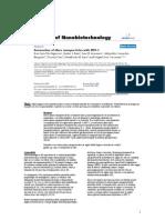 Interactiunea Nanoparticulelor de Argint Cu HIV1