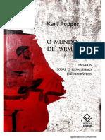 O mundo de Parmênides - Trecho - Karl Popper
