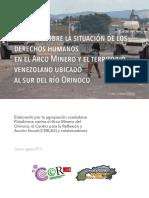 Informe Sobre La Situación de Derechos Humanos en El Arco Minero y El Territorio Venezolano Ubicado Al Sur Del Río Orinoco.pdf