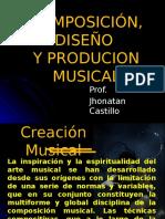 COMPOSICIÓN, DISEÑO Y PRODUCCION MUSICAL