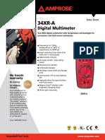 34XR-A Digital Multimeter