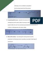 Org Chem Module A