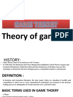 CHAPTER -GAME THEORY