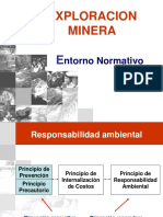 12.2 Entorno normativo de exploración minera