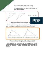 Congruencias & semejanzas del triangulo.