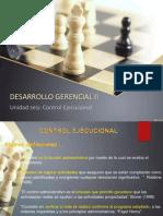 6 DG II    CONTROL EJECUCIONAL  julio 2018