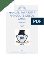 Manual para usar Hangouts desde Gmail