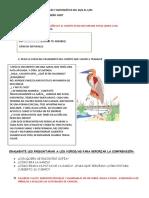 Actividades de Ciencias Naturales y Matemática Del 20 DE ABRIL