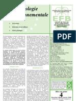 biotechnologie environnemental e