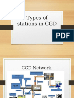 Types of stations in CGD