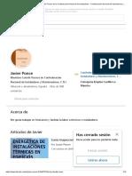 Javier Ponce - Miembro Comité Técnico de la Confederación Nacional de Instaladores - Confederación Nacional de Instaladores y Mantenedores, C N I _ LinkedIn