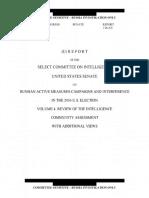 Senate Intelligence Committee Report Volume IV