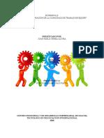Evidencia 8 Encuesta Valoracion de la capacidad de trabajo en equipo