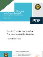Reopening Oregon Framework (draft)