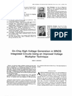 On-Chip High-Voltage Generation in MNOS Integrated Circuits Using an Improved Voltage Multiplier Technique