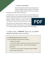 Práctica 6 Método Hannen. Descripción