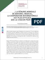 Etude Fondapol Emmanuel Combe Et Apres Penurie 2020-04-21