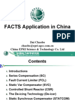 18(Da Chaobo)FACTS Application in China