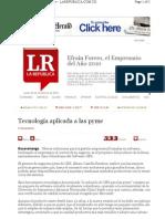 GBS -En Los Medios on Line-La Republica COM - GBS Es Tecnologia Para PYMES
