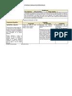 Planificación Natación II, Juan Alcantara, Segunda Clase