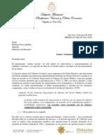 Salario Escolar-carta de Mideplan a Hacienda