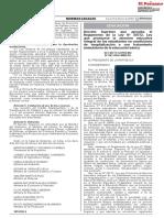 DS 003_2020_MINEDU_APRUEBA REGLAMENTO LEY 30772_ATENCION INTEGRAL ESTUDIANTES HOSPITALIZACION