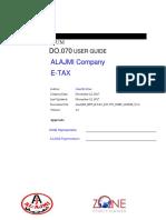 AJMI_ERP_ETAX_DO070_USER_GUIDE_V1.0