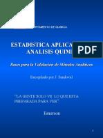 Estadistica Aplicada al Analisis Quimico I.ppt