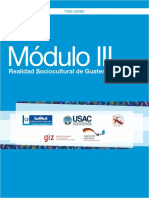 Módulo III Realidad Sociocultural de Guatemala