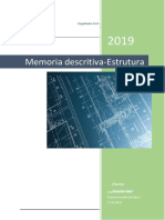 Memoria descritiva _estrutura