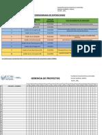 Gerencia de Proyectos 2019-01
