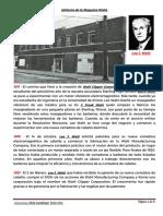 Historia de la Maquina Wahl. Por la Profesora SILVIA Torres Che.