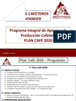 3. 1 PRESENTACION PROGRAMAS Y PROYECTOS 2020