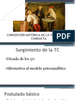 1.Concepcion historica de la terapia de la conducta