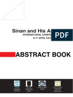 Sinan and His Age Abstracts